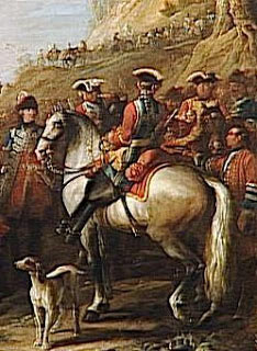 French Maison du Roi: Battle of Lauffeldt 21st June 1747 in the War of the Austrian Succession