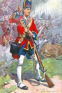 Grenadier of the Royal Scots Fusiliers