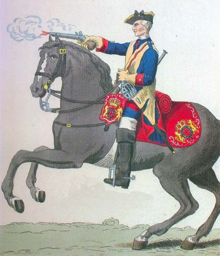 A trooper of the Royal Horse Guards