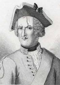 Dragoon Thomas Brown of Bland's King's Own Royal Dragoons: Battle of Dettingen fought on 27th June 1743 in the War of the Austrian Succession