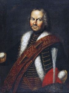 Baron Fransiscus von der Trenck, colonel of Pandours: Battle of Soor 30th September 1745