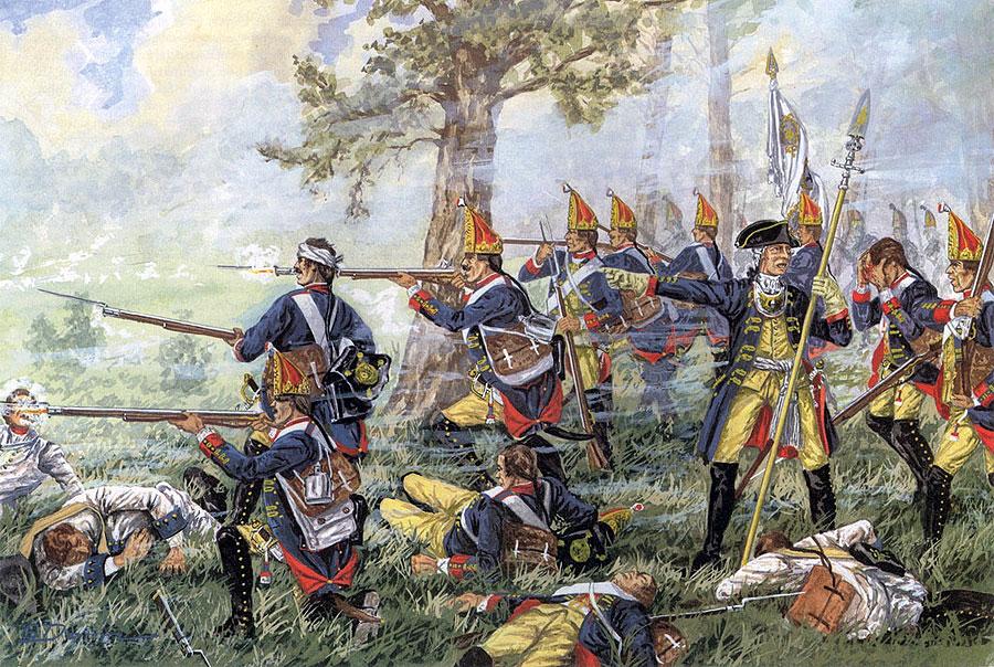 The Grenadier Guard Battalion of Einsiedel No. 6