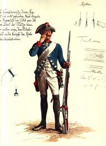 Prussian Infantry Regiment von Forcade No 23