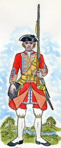 48th Regiment of Foot in the '45 Rebellion: Mackenzie after Representation of Cloathing