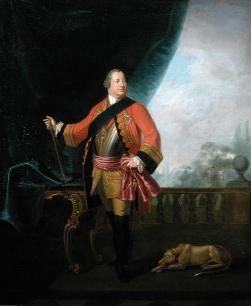 William Augustus, Duke of Cumberland: picture by David Morier: click here to buy this picture