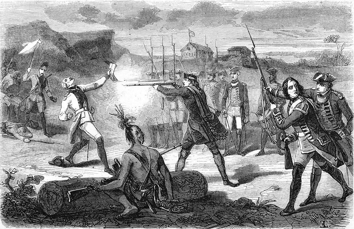 The 'assassination' of Jumonville