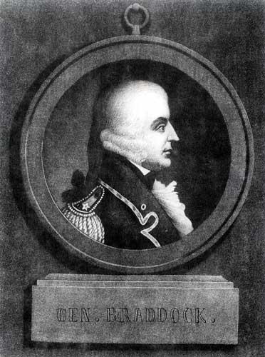 Major Braddock portrait