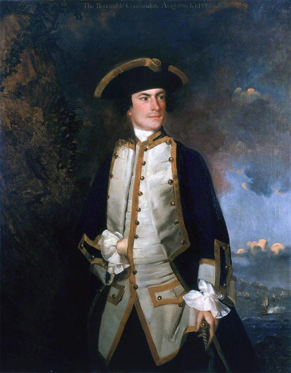 Captain Augustus Keppel