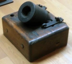 A Coehorn mortar