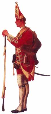 Grenadier of the 48th Regiment; painting by David Morier