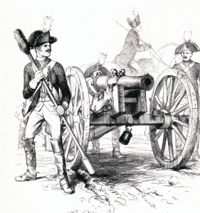 Gunners with 6 pounder