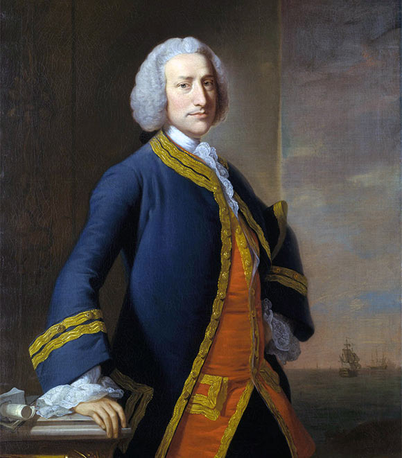 Lord Anson, First Sea Lord