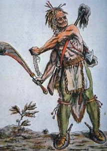 A Mingo Iroquois Warrior of the Ohio Region