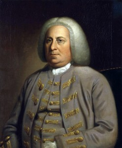 Robert Dinwiddie lieutenant-governor of Virginia 1751 to 1758: portrait by an unknown artist