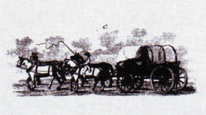 Virginia tobacco wagon