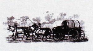 Virginia tobacco wagon