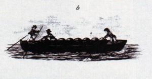 Virginia tobacco raft