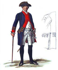 Prussian Infantry Regiment von Geist No 8