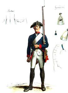 Prussian Infantry Regiment Anhalt-Bernberg 3