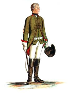 Prussian Mounted Field Jӓger