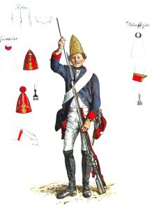 Prussian Füsilier-Regiment von Kursell No 37