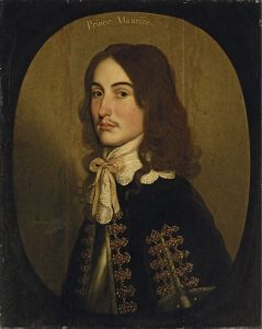 Prince Maurice the Royalist commander who took his horse the 45 miles to Oxford to bring back the relief for Hopton's force in Devizes leading to the Battle of Roundway Down on 13th July 1643