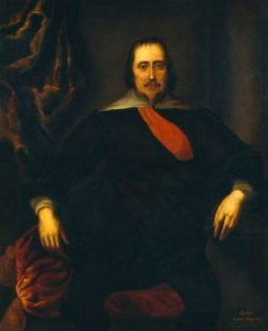 Sir Ralph Hopton the commander of the Royalist Foot in Devizes at the Battle of Roundway Down on 13th July 1643