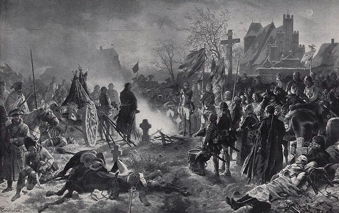 After the Battle of Leuthen