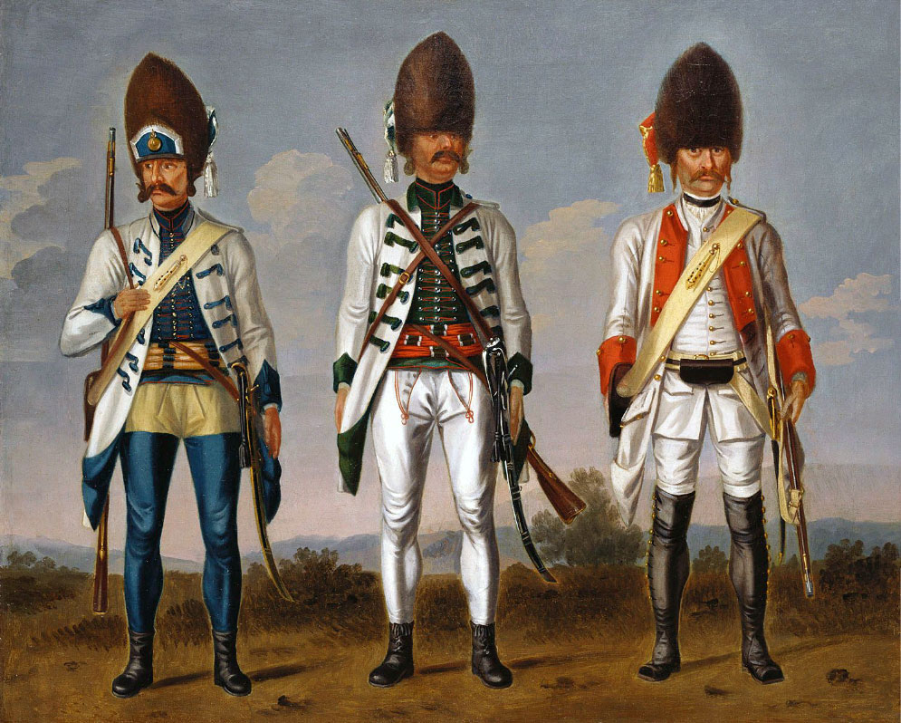 Regiments of the Austrian army