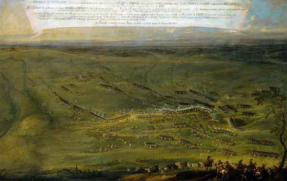 The Battle of Kolin 18th June 1757: an anonymous contemporary picture