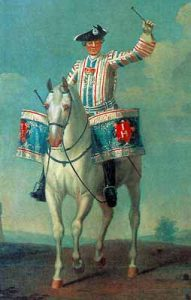 British Kettle Drummer of Horse