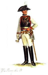 Prussian Regiment Gensdarmes No 10