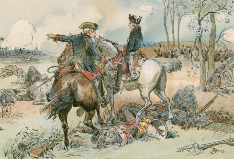 Frederick the Great at the Battle of Kolin 18th June 1757: click here to buy this picture