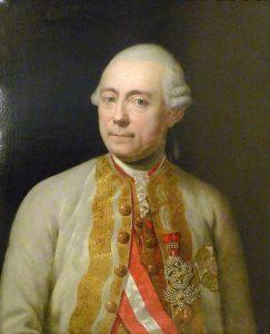 General Franz Moritz von Lacy: contemporary portrait in the Heeresgeschichtliches Museum in Vienna by an unknown artist