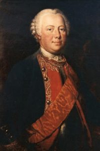 General Karl von Winterfeld Prussian commander killed at the Battle of Prague 6th May 1757