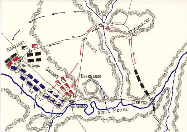 Map of Warburg