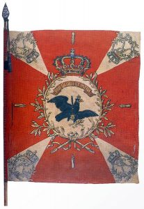 The Colours of Prussian Infantry Regiment Number 17 Manteuffel