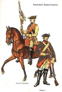 Russian Cuirassier and Dragoon