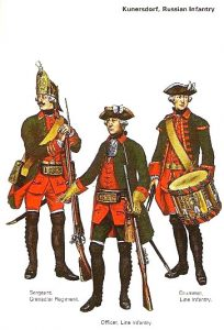 Grenadier, Officer and Drummer