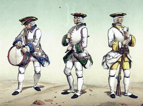 Spanish Infantry of 1762