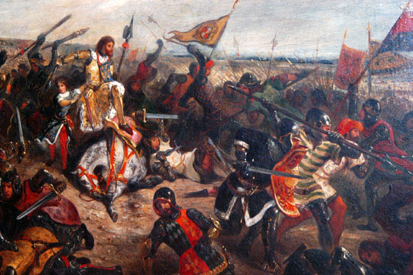 The Battle of Poitiers on 19th September 1356 in the Hundred Years