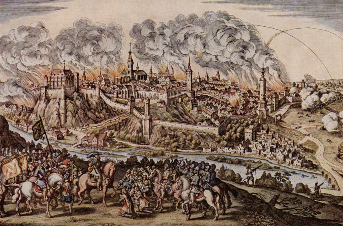 Surrender of a city under siege at the time of the English Civil War: Storming of Bristol on 26th July 1643 in the English Civil War