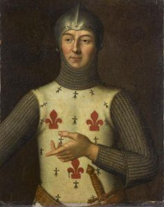 Hugues Quiéret French Admiral killed at the Battle of Sluys on 24th June 1340 in the Hundred Years War