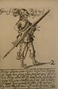 Musketeer in the English Civil War