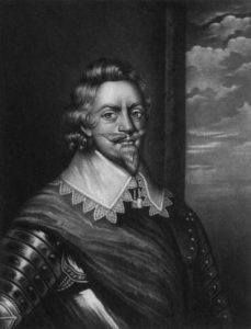 Patrick Ruthven, Earl of Forth, Royalist commander at the Battle of Cheriton on 29th March 1644 in the English Civil War