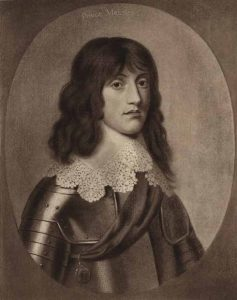 Prince Maurice Royalist Commander of the 'Cornish Army' in the storming of Bristol on 26th July 1643 in the English Civil War