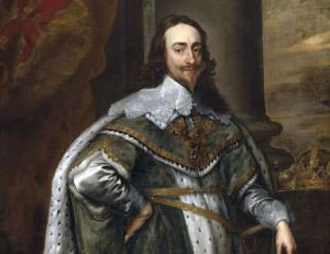 King Charles I who commanded his own Royalist army at the First Battle of Newbury on 20th September 1643 in the Civil War