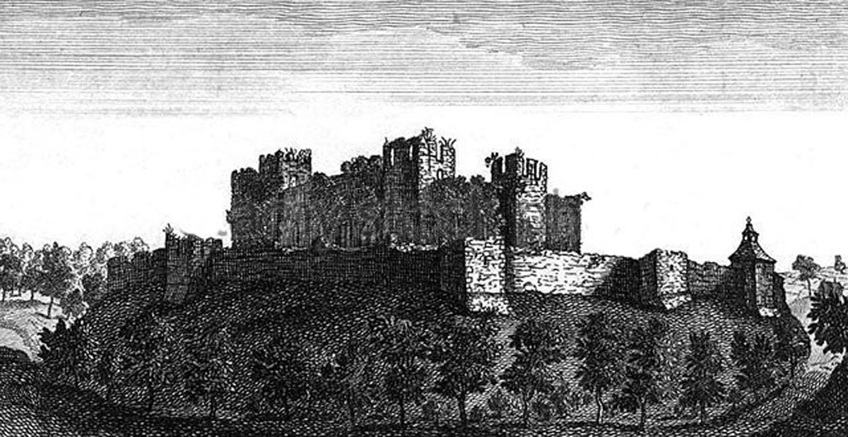 Farnham Castle; Sir William Waller's headquarters during his campaign in 1643 and 1644 in the English Civil War
