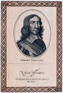Nathaniel Fiennes, Parliamentary troop commander at the Powick Bridge skirmish on 23rd September 1642