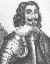 Sergeant Major General Philip Skippon commander of the Parliamentary Left Wing and the London Trained Bands at the First Battle of Newbury on 20th September 1643 in the Civil War